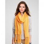 Free crochet v-stitch scarf