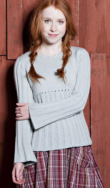 Free Knit Empire Pullover Pattern