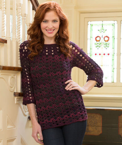 Free Seamless Crochet Tunic Pattern
