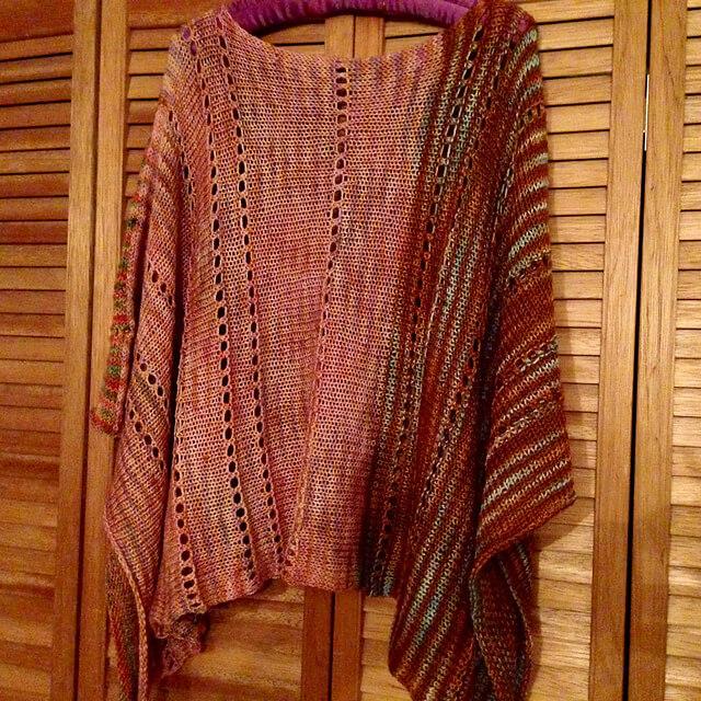 Free Knit Shawncho Pattern