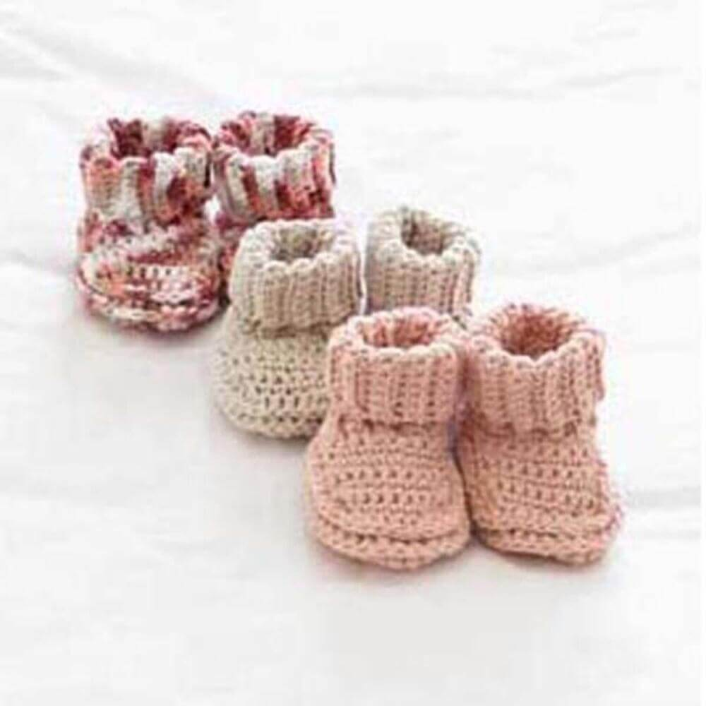 Crochet These Little Booties For Every Baby You Know Free Pattern