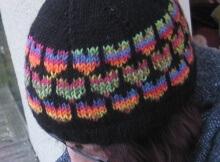Free Knit Sweetheart Beanie Pattern
