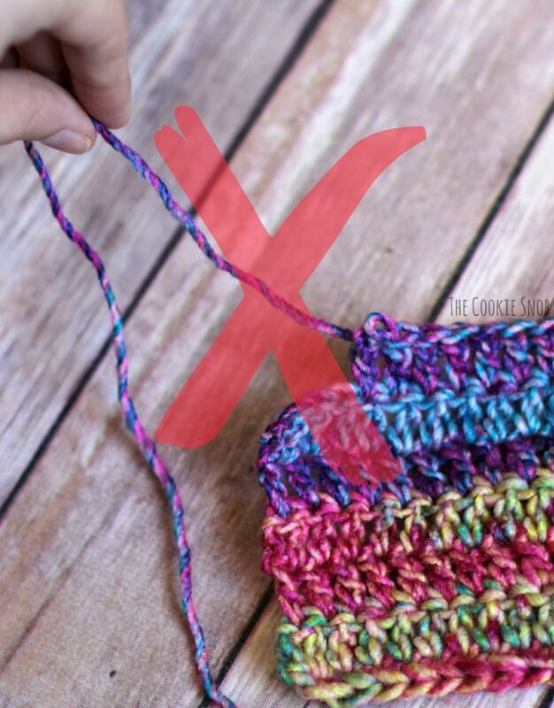 Free Crochet and Knit Frogging Tips