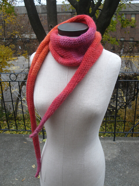 Free Knit Scarf Pattern - Pip