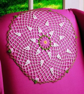 Free Crochet Dahlia Doily