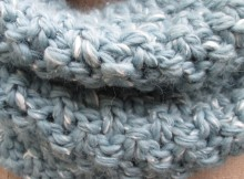Free Knit Winter Sky Cowl