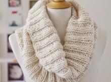 Free Knit Cowl Pattern