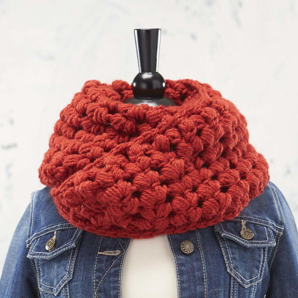 Free Puff Pastry Cowl Crochet Pattern