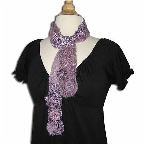 Free Mystery Scarf Crochet Pattern