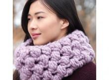 Free Crochet Bulky Cowl Pattern