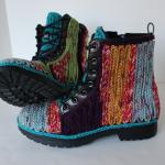 Free Crochet Outdoor Boots