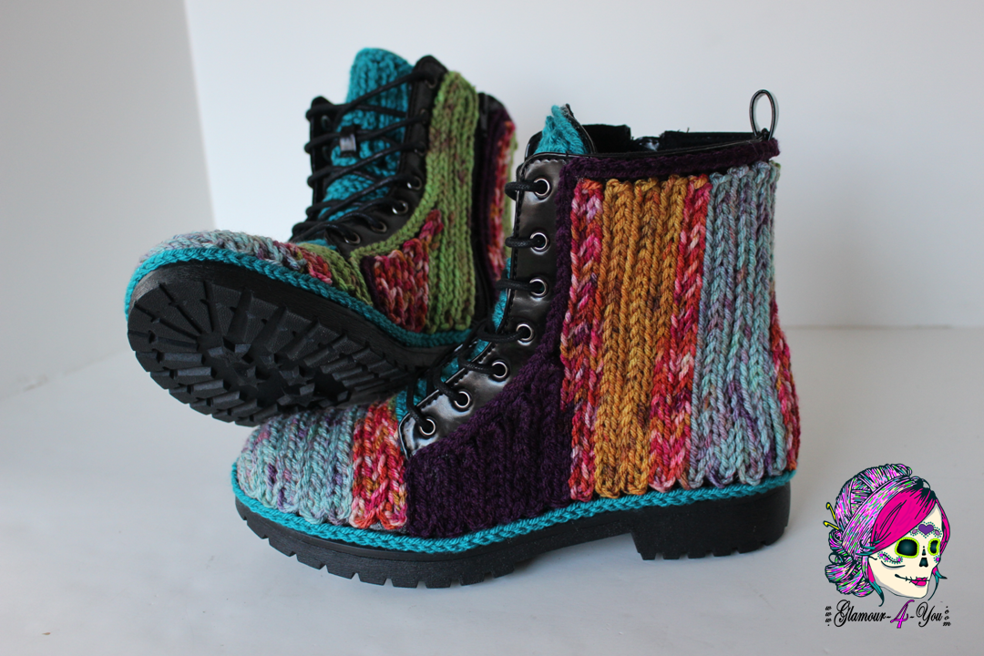 Free Crochet Outdoor Boots