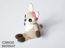 Free Knit Dotty the Fawn Pattern