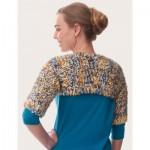 Free Knit Blissful Shrug Pattern