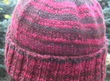 Knit a top down hat - free pattern