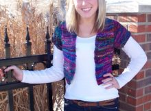 Free Knit Summer Shrug pattern