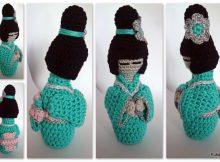 Free Crochet Kokeshi Doll Pattern
