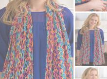Free Lacy Crochet Shawl Pattern