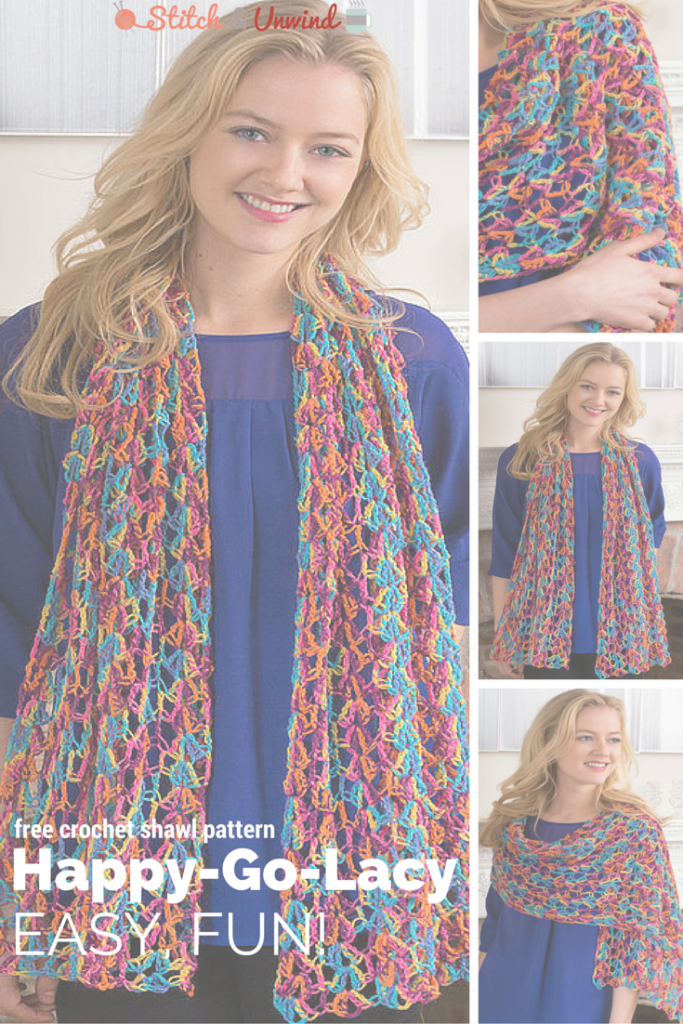 Free Lacy Crochet Shawl Pattern