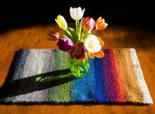 Free Knit Place Mat Pattern