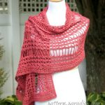 Crochet Summer Lace Wrap