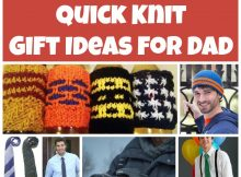 Quick Knit Gifts for Dad's Special Day!