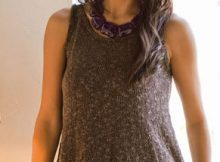 Knit Tank Top- Free Pattern