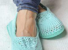 Free Crochet Flip Flop Pattern