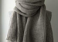 Knit Free Wrap Pattern