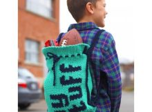 crochet this kid's backpack