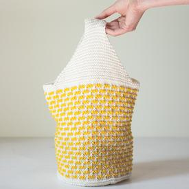 Sunny Knit Lunch Bag Pattern