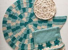 Sand and Sea Knit Bath Set