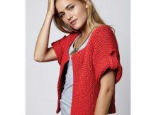 Simple Knit Summer Cardigan Pattern