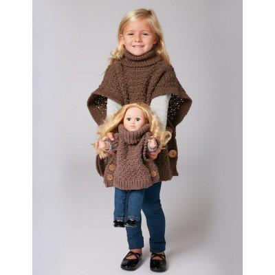 Free Child Sized, Stylish Crochet Poncho!