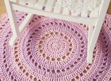 Crochet Mandala Rug - Gorgeous