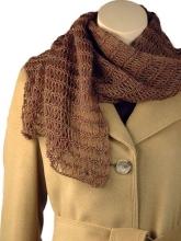 Gorgeous knit shawl/scarf pattern