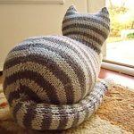 Knit Parlor Cat Pattern