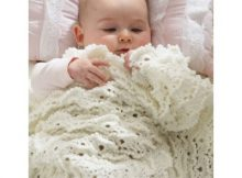 Crochet Fluffy Meringue Stitch Blanket