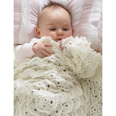 Crochet Fluffy Meringue Stitch Blanket