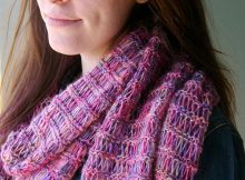 Free knit scarf/shawl pattern