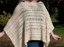 Crochet Perfect Fall Poncho