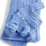Free Knit Baby Layette