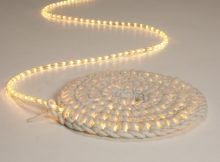 Crochet light mat or wall-hanging