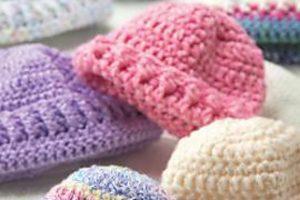 Crochet Preemie Hats