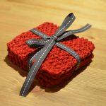 Super Simple Knit Coasters