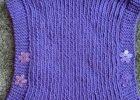 Easy Knit Child's Poncho