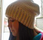 Free Crochet Slouchy Hat